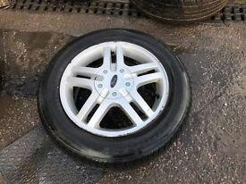 SET OF 4 FORD FOCUS WHEELS AND TYRES 15""