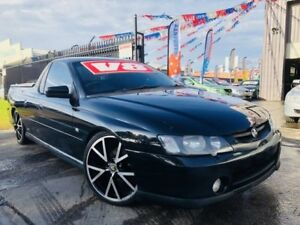 2003 Holden Commodore VY SS Black 4 Speed Automatic Utility Brooklyn Brimbank Area Preview