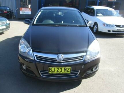 2007 Holden Astra AH MY07.5 CDX Black 5 Speed Manual Coupe Tuggerah Wyong Area Preview