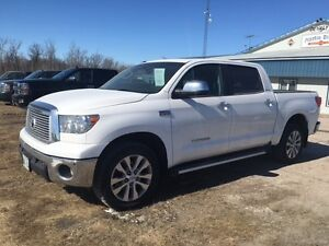 """2013 Toyota Tundra Platinum Crew Pickup Truck """"NEW PRICE"""""""