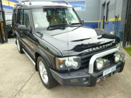 2004 Land Rover Discovery Series II Black 4 Speed Automatic Wagon Mordialloc Kingston Area Preview