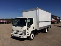 2011 Isuzu Single Axle with 16' Van body