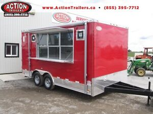 CONCESSION TRAILERS - WE BUILD ALL SIZES AND OPTIONS -LOW PRICES