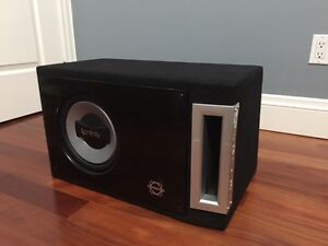 Subwoofer Infinity- custom box