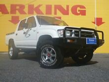 2000 Toyota Hilux LN167R White 5 Speed Manual Utility Winnellie Darwin City Preview