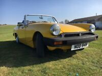 Classic 1979 MG Midget 1500, Body Fully Restored, Low Mileage