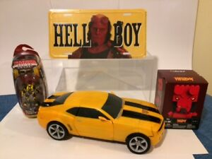 2 BUMBLEBEE & 2 HELLBOY COLLECTIBLES / TOYS FOR $35 BUMBLEBEE