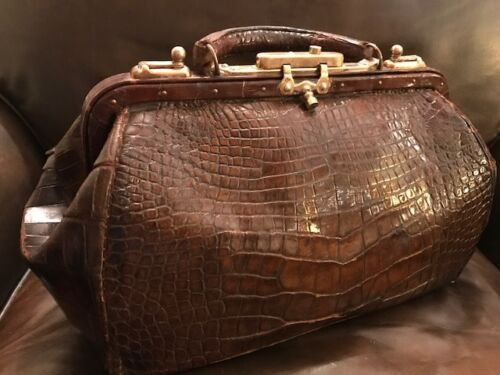 Alligator & Brass Doctors Bag Quality Antique