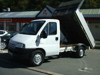 Citroen Relay Tipper 2.2 HDI 3.500 kg Steel Bed,Drop Side Ford Transit 3.5 Tone