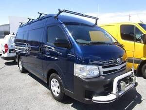 2012 TOYOTA HIACE SLWB VAN WITH EXTRAS - OWN FROM $106p/w Currumbin Waters Gold Coast South Preview