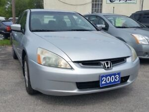 2003 HONDA ACCORD IN A MINT CONDITION