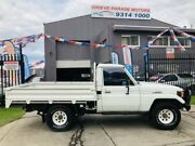 1991 Toyota Landcruiser HZJ75RP (4x4) White 5 Speed Manual 4x4 Cab Chassis Brooklyn Brimbank Area Preview