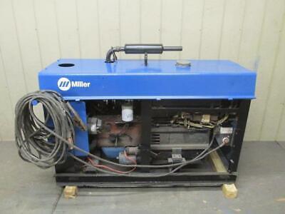 Miller Big 20 Gas Dc Welder Generator 300 Amp 120v