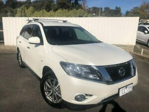 2015 Nissan Pathfinder R52 MY15 ST X-tronic 4WD White 1 Speed Constant Variable Wagon Lilydale Yarra Ranges Preview