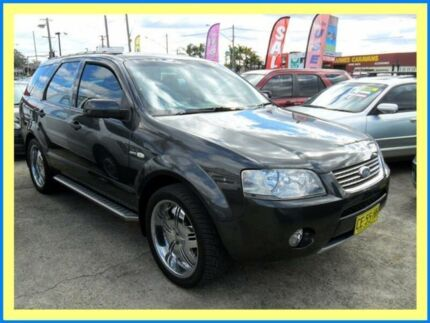 2007 Ford Territory AWD SY GHIA Grey 6 Speed Automatic Wagon Lansvale Liverpool Area Preview