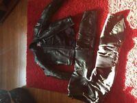 Alpine stars 2 piece leathers