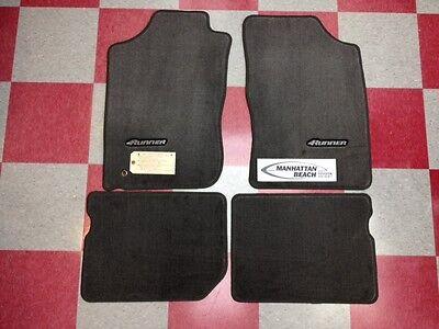 1996-2002 4RUNNER CARPET FLOOR MATS-CHARCOAL GRAY PT206-89010-11 GENUINE TOYOTA  2002 Toyota 4runner Floor