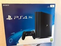 Top of range PS4 WITH WARRANTY £250