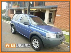 2001 Land Rover Freelander 01MY ES Blue 5 Speed Sports Automatic Softtop Granville Parramatta Area Preview