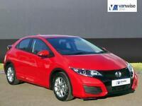 2016 Honda Civic I-VTEC S Petrol red Manual
