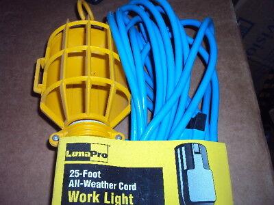 LUMAPRO 2W163 Incandescent Hand Lamp, 75 Lamp Watts, 25 ft.
