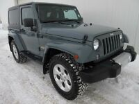 2014 Jeep Wrangler 6SPD NAV Hard and Soft Top All Approved!