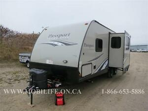 PASSPORT 2400BH - DOUBLE BUNKS - OUTSIDE KITCHEN - SLEEPS 8
