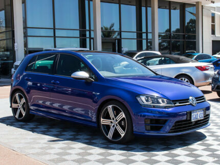 2016 Volkswagen Golf VII MY16 R DSG 4MOTION Blue 6 Speed Sports Automatic Dual Clutch Hatchback