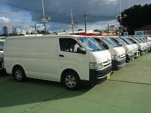2007 Toyota Hiace TRH201R MY07 Upgrade LWB White 4 Speed Automatic Van Canada Bay Canada Bay Area Preview