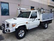 Landcruiser GXL VDJ79 2013 V8 turbo diesel with service body & ladder racks Seven Hills Blacktown Area Preview