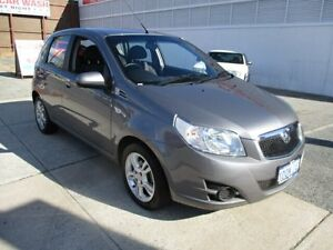 2011 Holden Barina TK MY11 Grey 5 Speed Manual Hatchback West Perth Perth City Area Preview