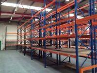 JOBLOT MECALUX pallet racking excellent condition ( pallet racking , industrial storage )