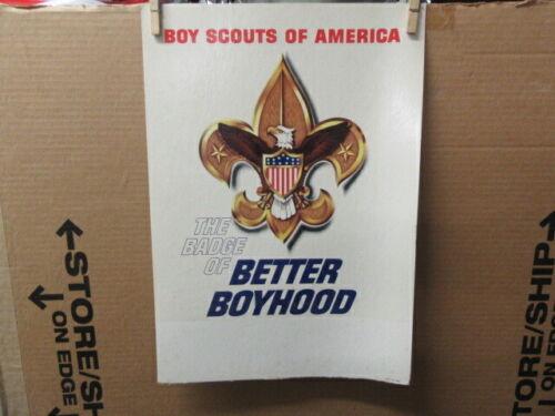 The Badge of Better Boyhood Poster, 1950-60