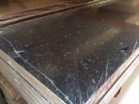 Black Everest Laminate Kitchen Worktops - Brand New 10 foot long