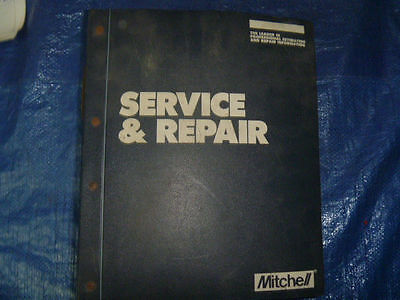 1988 89 Mitchell Electrical Service & Repair Manual Vol.III Imported Cars & Vans