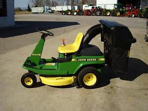 small John Deere rider wanted  ( Whitecourt)