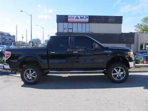 """2009 Ford F-150 XLT 4WD SuperCrew 145""""Lifted 32"""" tires!"""
