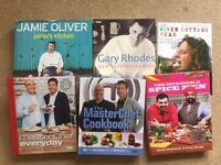 Selection of cookbooks - pick & mix (£2 each) - celeb chefs, baking, slow cook, 'clean eating' etc