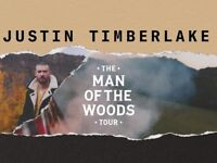 2x Justin Timberlake tickets Birmingham