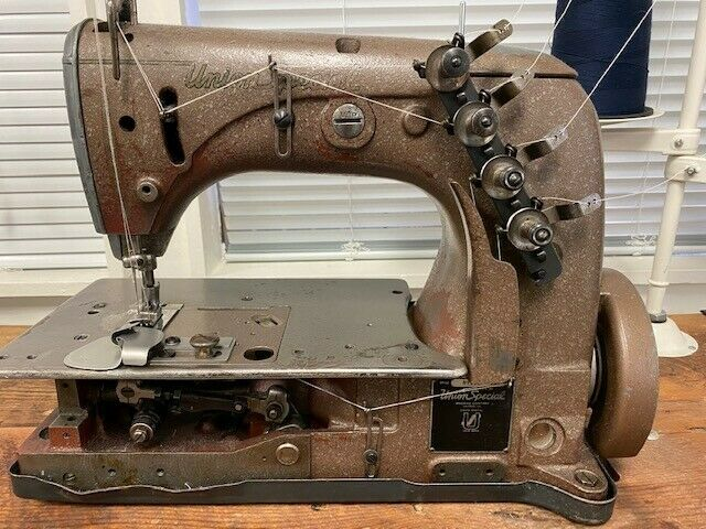 Union Special 51500 Industrial Sewing Machine Two Needle Chainstitch