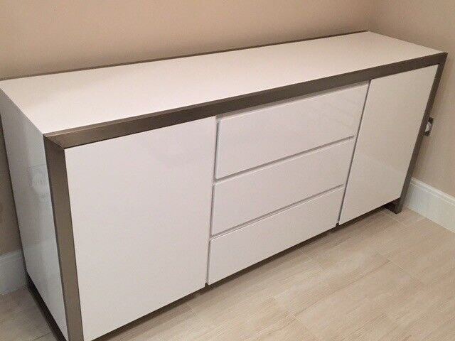 Dwell sideboard white