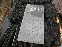 Reclaimed roofing slates 20x10