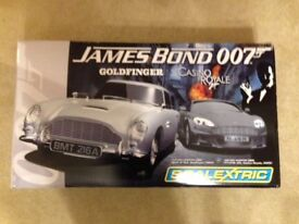 SCALEXTRIC TRACK JAMES BOND 007 BOXED, EXCELLENT CONDITION