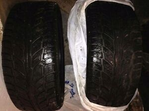 *Want Gone* Like new Cooper Weather Master WSL 235/50R18