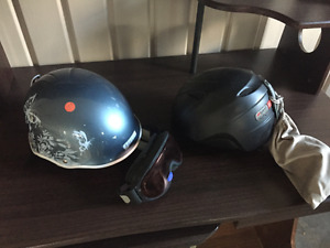 2 Casques ski alpin ou snopw board - size small enfant