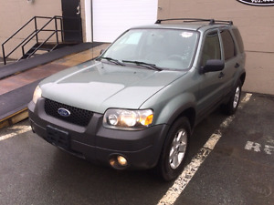 2006 Ford Escape XLT 4wd loaded
