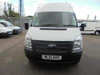 Ford Transit T350 LWB HIGH ROOF VAN 100PS EURO 5 DIESEL MANUAL WHITE (2012)