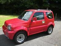 SUZUKI JIMNY 1.3 JLX 3d 83 BHP (red) 2007