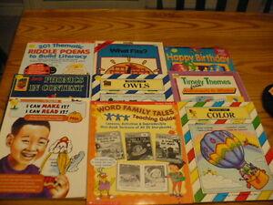 Lot of Teacher Resource Books