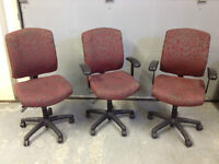 7 office chairs available